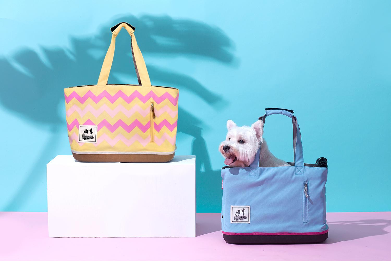 玩轉色彩新美學 玩色寵物托特包繽紛上市!