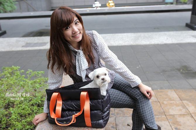 寵物外出包及寵物窩床推薦:ibiyaya~棉花糖寵物空氣包、寵物三角窩